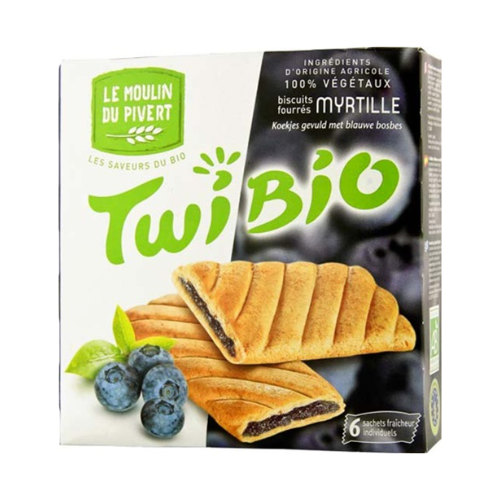 Le Moulin Twibio Biscuits Filled with Blueberry