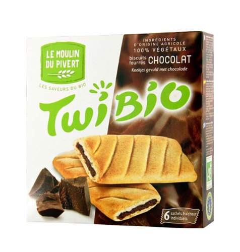 Le Moulin Twibio Biscuits Filled with Chocolate