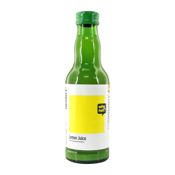Why Not Lemon Juice Organic, 200ml