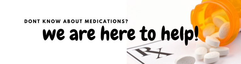 Dont know about medications_
